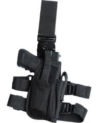 tactical leg holster in black