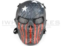captain america airsoft mask