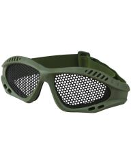 olive airsoft glasses mesh