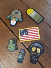 airsoft accessories patches